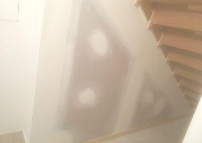 SY Plastering Bellmere Stairway