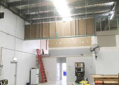 SY Plastering Office Fit Outs