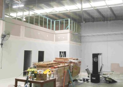 SY Plastering localphysio Office Fitout 1